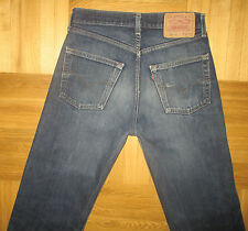 Men's Levi's 520 Vintage Jeans Blue Denim Straight Leg size W30 L31