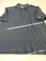 Disney Parks Mens Shirt Size XL Blue Short Sleeve Polo Disneyland Resort Cotton