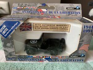 Solido 50th Anniversary De La Liberation Military Jeep