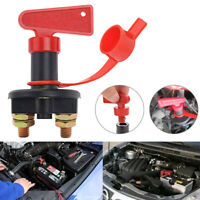 DC12V Battery Isolator Switch Cut Off Disconnect Power Kill Key for Car Van Boat
