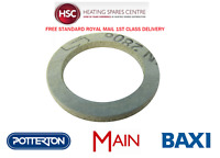 BAXI COMBI 80E 80ECO 80 MAXFLUE 105E & 105HE ISOLATION VALVES WASHER 247745 NEW