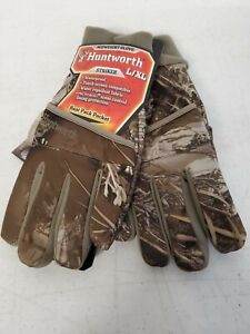 Huntworth Striker Midweight Glove Realtree Camo Waterproof with Microban sz L/XL