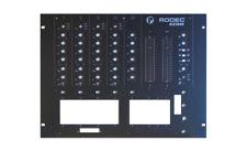 Façade / Frontplate NEUVE pour table de mixage RODEC MX1800