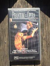 Phantom Of The Opera Volume 2 VHS (1989) VGC Starring Lancaster, Ferreol Etc.