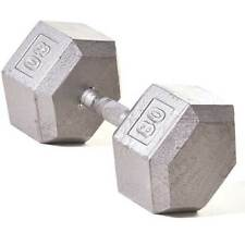 80 lb Champion Barbell Solid Hex Dumbbell w/ Straight Handle