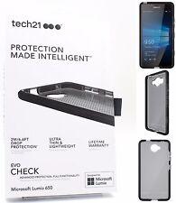 Original Tech 21 Evo cheque a prueba de choques funda para Microsoft Lumia 650-Negro
