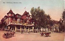 Colorado postcard Manitou, Ciff House hotel pikes peak