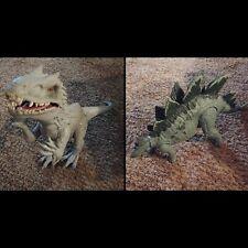 "Jurassic World Lot Indominus Rex 20"" Light & Sounds w/ Stegasaurus Action Figure"