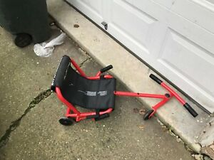 PRE OWNED EzyRoller Drifter Pro X Series Ride On Toy Red Ages 10+