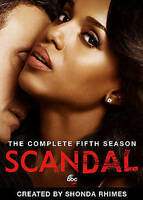 Scandal:The Fifth Season Five 5 (DVD, 2016, 5-Disc) NEW FREE SHIPPING US SELLER