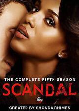 Scandal: Season 5 DVD, Joe Morton, Portia de Rossi, Bellamy Young, Joshua Malina