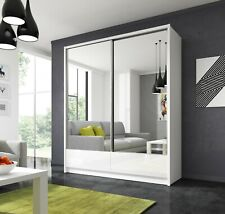 Modern Design High Quality wardrobe ARA drawers  and 2 sliding mirrored doors