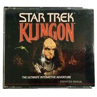 Vintage Star Trek Role Play Klingon Immersion Studies PC Game Windows 95