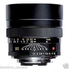 Brand New Unused Leica Summilux-R 80mm F1.4 Tele Portrait Lens 11349