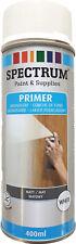 Universal Grundierung Spray 400ml Primer Haftgrund Holz Kunststoff Metall Weiss