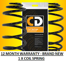 Front Coil Spring x 1 to fit Nissan Note 2006 to 2012 1.4
