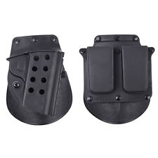 CQB Tactical Airsoft Holster with Mag Pouch Set For M1911 Black Sports Hunting