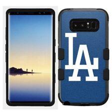 Samsung Galaxy Note 8 Rugged Hard+Rubber Hybrid Case Los Angeles LA Dodgers #B