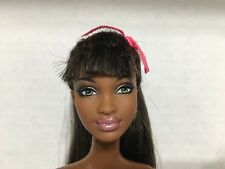 Barbie So In Style S.I.S Stylin Hair Grace Doll Articulated Joint Green Eye Rare