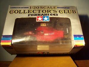 1/20 TAMIYA COLLECTORS CLUB FERRARI 643 1991 JEAN ALESI