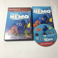 Finding Nemo (Sony PlayStation 2, PS2 2003)- Complete