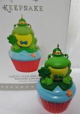 Baker's Dozen Cupcake Ornament LUCKY LEAP-RECHAUN HALLMARK 2015 New in Box