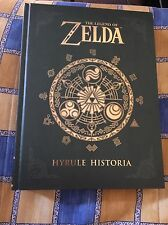 THE LEGEND OF ZELDA HYRULE HISTORIA HARDCOVER BOOK (ENGLISH), HOW NEW
