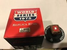 CINCINNATI REDS 1975 WORLD SERIES REPLICA RING NEW IN BOX SGA 9-22-17