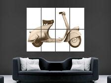 Primo VESPA MP 5 Classic Scooter Bicicletta Muro Art Immagine di grandi dimensioni poster gigante