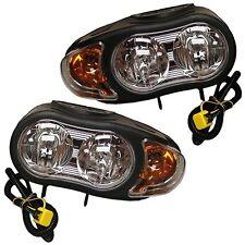 New 07549 Genuine Meyer Night saber II plow lights light set Meyers 07550 Nite 2