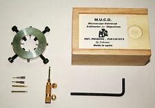 M.U.C.O. Microscope Universal Collimator Objective lens alignment
