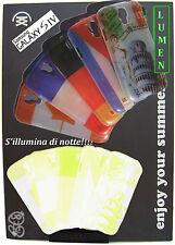 COVER fluorescente compatibile per GALAXY S4 i9500 SAMSUNG Custodia Star Light