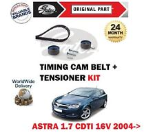 FOR VAUXHALL ASTRA H 1.7 CDTi 16V 2004->NEW GATES TIMING CAM BELT TENSIONER KIT