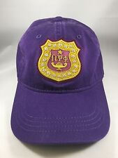 Omega Psi Phi Hat with Bullion Crest Patch