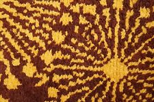 70s RETRO DANISH  RUG CARPET SHAG OP ART Mid-Century PANTON ERA VINTAGE 60s 3
