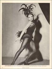 1950s vintage print photo Dancer Colette Marchand , Les ballets de Paris  041518