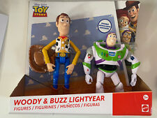 Toy Story Poseable Figures - Woody and Buzz Lightyear Pack