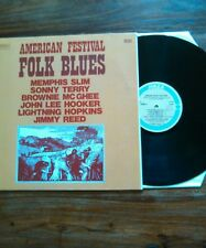 American festival folk blues lp