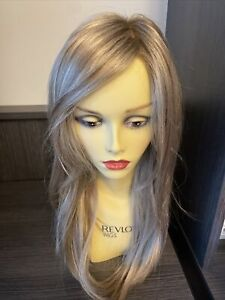 Kaia Wig by Jon Renau 12fs12 Rooted Malibu Blonde 100% Hand Tied Mono Top Lace