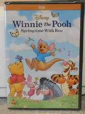 Winnie the Pooh - Springtime with Roo (DVD, 2014) BRAND NEW