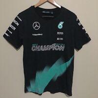 Mercedes Petronas World Champion 2014/2015 F1 T-Shirt Mens Medium