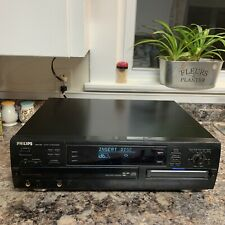 Philips Cdr785 3 Disc Cd Player Cd Recorder Works No Remote Power Button Tested!