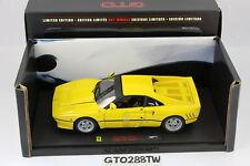 HotWheels ELITE 1:18 scale Ferrari 288 GTO 1984 - Yellow(Limited Ver) Hot Wheels