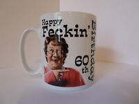 Mrs Browns Boys Birthday Mug Gift Idea 30th 40th 50th 60th etc. Personalised