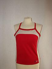 TCM Body Style Damen Top Gr.42-44 rot-beige Sportlertop