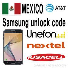 AT&T Mexico Unlock Code Samsung Grand Prime g532m E5 J1 Ace J2 J3 J5 Prime A3 S8