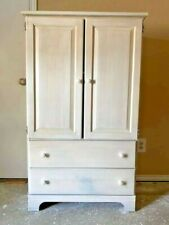 Solid wood cabinet/armoire/cupboard (Not fake or composite wood). Dfw pick up.