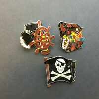 WDW - Cast Lanyard Collection Pirates of the Caribbean - 3 Pins Disney Pin 43203