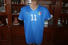 Maglia  calcio Italia numero 11 Cassano  anni 2000