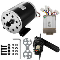1000W 48V Motor +Controller box+ Throttle Pedal electric Scooter quad kit